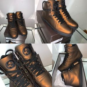 🔥🔥💯Authentic Gucci hight top sneakers 👟 🔥🔥🔥